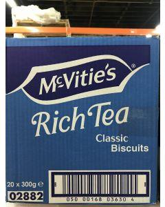 McVitie's - Rich Tea - Classic Biscuits - 300g / 20 pieces per box