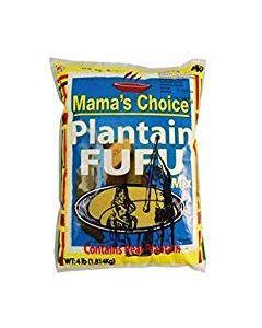 Mama's Choice - Plantain Fufu - 4 lbs / 8 pieces per box