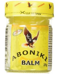 Aboniki - Balm -  25g / 4 Dozen (48 Jars)