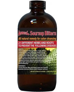 Amenazel - Soursop Bitters - 16oz / 12 pieces per box