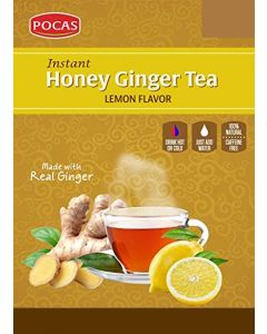 Pocas Ginger Tea - Lemon - 24 Packs