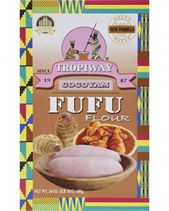 Tropiway - Cocoyam - FuFu Flour - 24 pieces per box