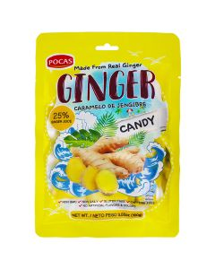Pocas - Ginger - Candy - 3.52 oz / 24 pieces per box
