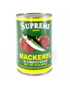 Supreme Mackerel - Green - 15 oz /24 pieces per box