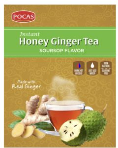 Pocas Ginger Tea – Soursop – 24 Packs