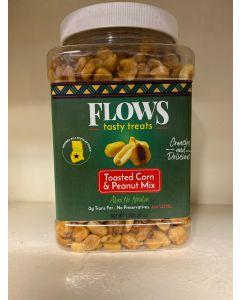 Flows - Tasty Treats - Toasted Corn & Peanut Mix - 2 lbs / 12 pieces per box