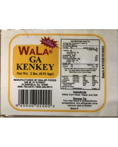Wala - Ga Kenkey - 2 lbs / 48 pieces per box