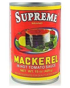 Supreme Mackerel - Red - 15 oz / 24 pieces per box