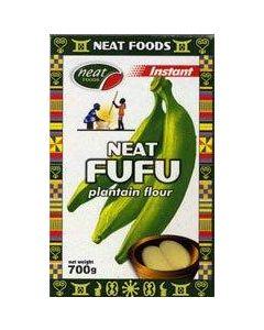 Neat Plantain Fufu - 700g / 12 pieces per box