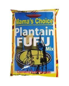 Mama's Choice – Plantain Fufu – 10 lbs / 4 pieces per box