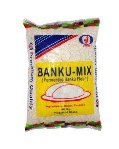 Praise - Banku Mix - 1 kg / 12 pieces per box