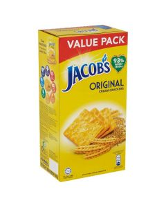 Jacob's - Original - Cream Crackers - 360g / 12 pieces per box