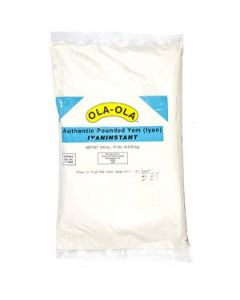 Ola Ola - Pounded Yam - 10 lbs / 4 pieces per box