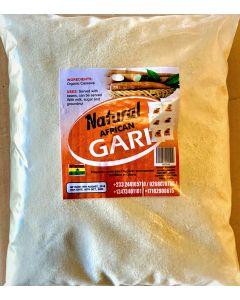 Natural African Gari - 5 lbs / 10 pieces per box